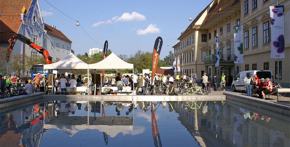 Radfahren Veranstaltung